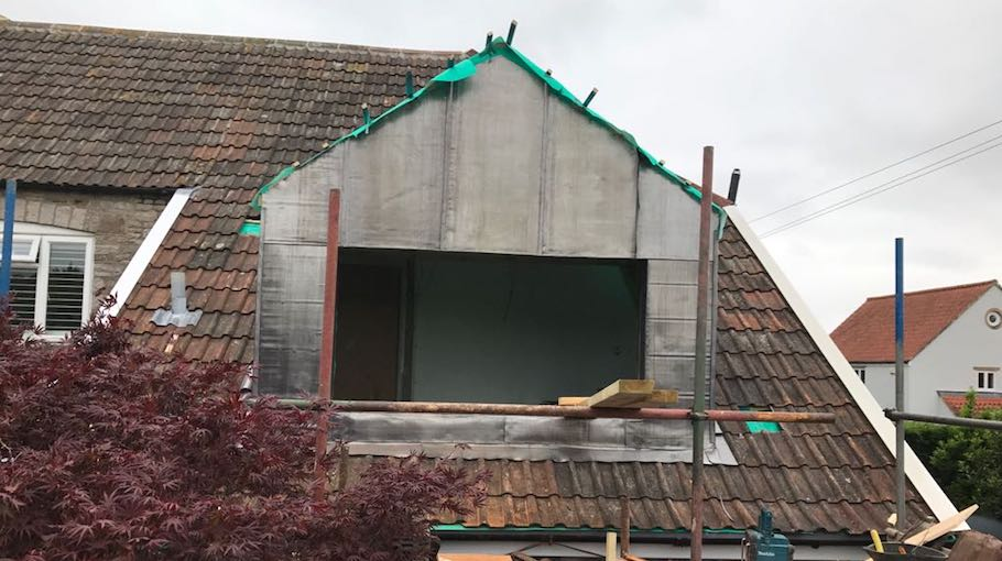 Sage Roofing South West | Our Services | Leadwork | Tockington Manor School Before Image